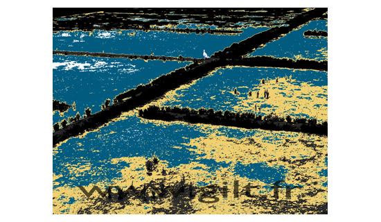 Gilt Paysages Mer N° : M29