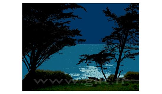 Gilt Paysages Mer N°: M32