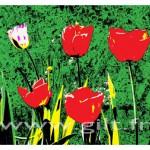 Gilt Fleurs et Plantes N°: FP07